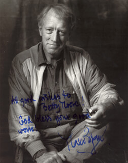 MAX VON SYDOW - AUTOGRAPHED INSCRIBED PHOTOGRAPH