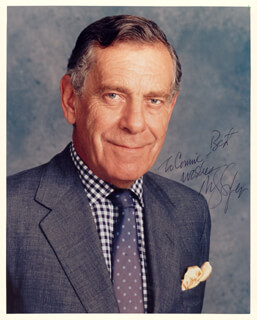 MORLEY SAFER - AUTOGRAPHED INSCRIBED PHOTOGRAPH