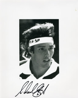 MICHAEL STICH - AUTOGRAPHED SIGNED PHOTOGRAPH