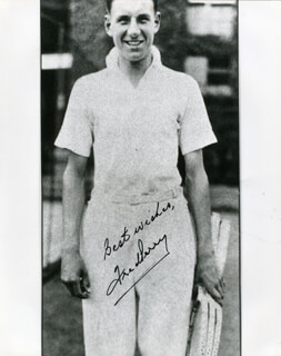 FRED PERRY - AUTOGRAPHED SIGNED PHOTOGRAPH