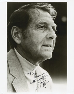 DAVID ROSE - AUTOGRAPHED INSCRIBED PHOTOGRAPH