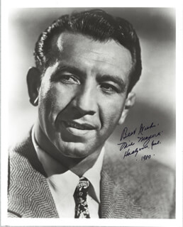 MIKE MAZURKI - AUTOGRAPHED SIGNED PHOTOGRAPH 1980