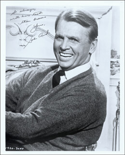 JOHN LUND - AUTOGRAPHED SIGNED PHOTOGRAPH