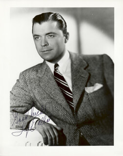 LYLE TALBOT - AUTOGRAPHED SIGNED PHOTOGRAPH