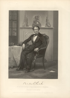 RUFUS CHOATE - STEEL ENGRAVING UNSIGNED