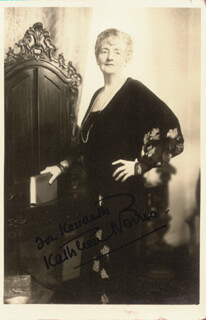 KATHLEEN THOMPSON NORRIS - AUTOGRAPHED INSCRIBED PHOTOGRAPH