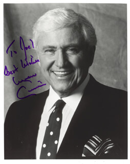 MERV GRIFFIN - AUTOGRAPHED INSCRIBED PHOTOGRAPH