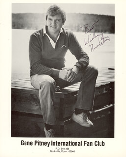 GENE PITNEY - AUTOGRAPHED SIGNED PHOTOGRAPH