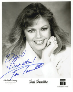 CAPTAIN & TENNILLE (TONI TENNILLE) - AUTOGRAPHED INSCRIBED PHOTOGRAPH