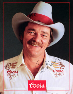 ED BRUCE - ADVERTISEMENT SIGNED
