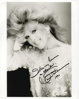 CONNIE STEVENS - AUTOGRAPHED SIGNED PHOTOGRAPH 1990