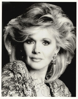 CONNIE STEVENS - AUTOGRAPHED INSCRIBED PHOTOGRAPH 1989