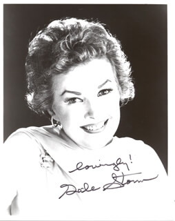 GALE STORM - AUTOGRAPHED SIGNED PHOTOGRAPH