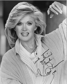 CONNIE STEVENS - AUTOGRAPHED SIGNED PHOTOGRAPH 1986