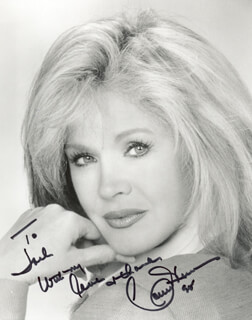 CONNIE STEVENS - AUTOGRAPHED INSCRIBED PHOTOGRAPH 1995