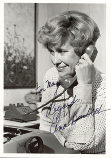 ERMA BOMBECK - AUTOGRAPHED INSCRIBED PHOTOGRAPH