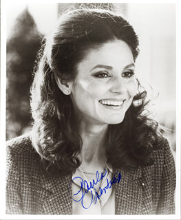 PAULA PRENTISS - AUTOGRAPHED SIGNED PHOTOGRAPH