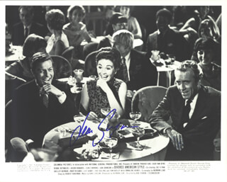 DIVORCE AMERICAN STYLE MOVIE CAST - AUTOGRAPHED SIGNED PHOTOGRAPH CO-SIGNED BY: JEAN SIMMONS, JASON ROBARDS JR.