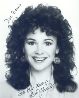 GAIL EDWARDS - AUTOGRAPHED INSCRIBED PHOTOGRAPH
