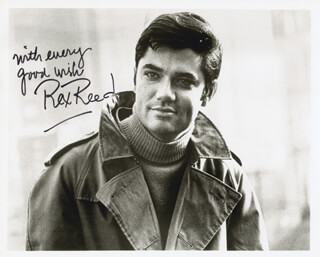 REX REED - AUTOGRAPHED SIGNED PHOTOGRAPH