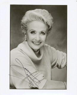 JANE POWELL - AUTOGRAPHED SIGNED PHOTOGRAPH