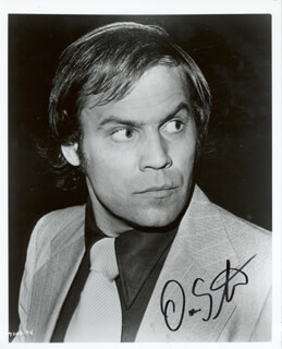 DON STROUD - AUTOGRAPHED SIGNED PHOTOGRAPH