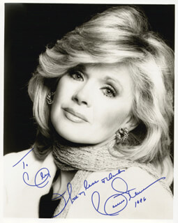 CONNIE STEVENS - AUTOGRAPHED INSCRIBED PHOTOGRAPH 1986