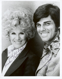 DICK GAUTIER - AUTOGRAPHED SIGNED PHOTOGRAPH CO-SIGNED BY: BARBARA STUART