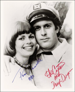 CAPTAIN & TENNILLE - AUTOGRAPHED SIGNED PHOTOGRAPH 08/1983 CO-SIGNED BY: CAPTAIN & TENNILLE (DARYL DRAGON), CAPTAIN & TENNILLE (TONI TENNILLE)