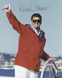 Autographs: DENNIS CONNER - PHOTOGRAPH SIGNED