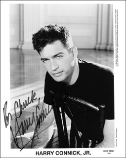 HARRY CONNICK JR. - AUTOGRAPHED INSCRIBED PHOTOGRAPH