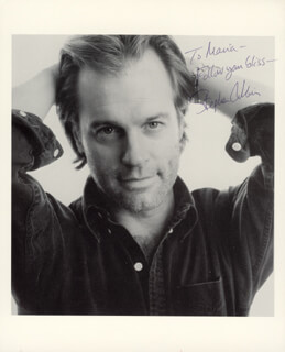 STEPHEN COLLINS - AUTOGRAPHED INSCRIBED PHOTOGRAPH