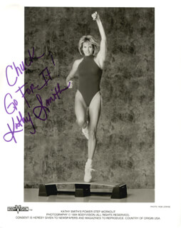 KATHY SMITH - AUTOGRAPHED INSCRIBED PHOTOGRAPH