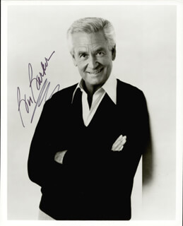 BOB BARKER - AUTOGRAPHED SIGNED PHOTOGRAPH