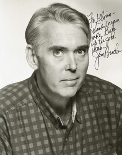 JIM BROCHU - AUTOGRAPHED INSCRIBED PHOTOGRAPH
