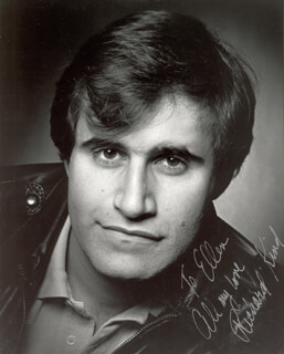 RICHARD KIND - AUTOGRAPHED INSCRIBED PHOTOGRAPH