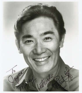 ROBERT ITO - AUTOGRAPHED INSCRIBED PHOTOGRAPH