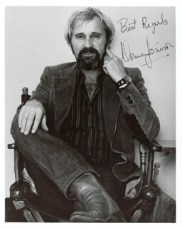 NORMAN JEWISON - AUTOGRAPHED SIGNED PHOTOGRAPH