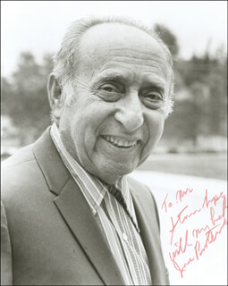 JOE PASTERNAK - AUTOGRAPHED INSCRIBED PHOTOGRAPH