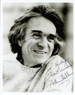 ARTHUR HILLER - AUTOGRAPHED INSCRIBED PHOTOGRAPH
