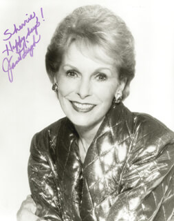 JANET LEIGH - AUTOGRAPHED INSCRIBED PHOTOGRAPH