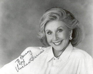 MICHAEL LEARNED - AUTOGRAPHED INSCRIBED PHOTOGRAPH