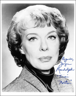 JOYCE RANDOLPH - AUTOGRAPHED SIGNED PHOTOGRAPH