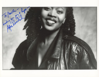 ALFRE WOODARD - AUTOGRAPHED INSCRIBED PHOTOGRAPH