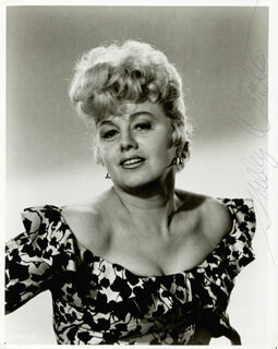 SHELLEY WINTERS - AUTOGRAPHED SIGNED PHOTOGRAPH