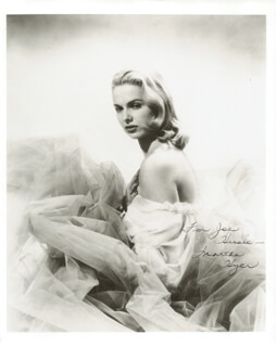 MARTHA HYER - AUTOGRAPHED INSCRIBED PHOTOGRAPH