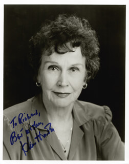 KIM HUNTER - AUTOGRAPHED INSCRIBED PHOTOGRAPH