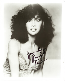MARILYN McCOO - AUTOGRAPHED SIGNED PHOTOGRAPH