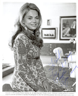 DYAN CANNON - AUTOGRAPHED INSCRIBED PHOTOGRAPH