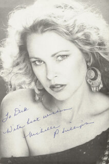 MICHELLE G. PHILLIPS - AUTOGRAPHED INSCRIBED PHOTOGRAPH